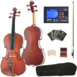 Cecilio-CVA-400-14-Inch-Solid-Wood-Flamed-Viola-with-Chromatic-Tuner-0-7-150x150 Best Viola Brands for Beginners 2021 Product Reviews Reviews