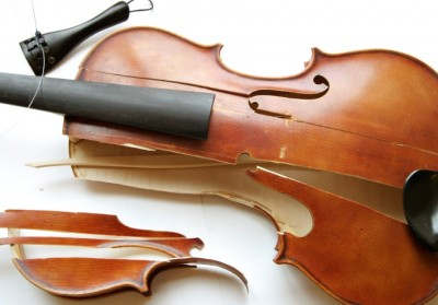 Broken Viola