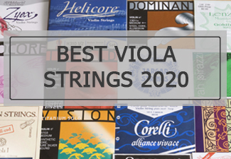 best viola strings 2020
